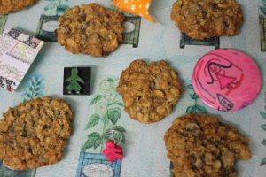 Hazelnut Oat Choc Chip Cookies