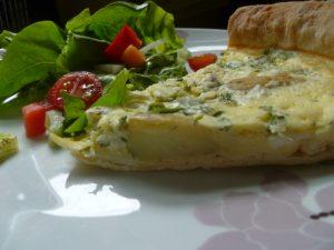 Asparagus & Potato Tart