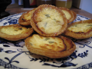 Cheese & Marmalade Bread Tarts
