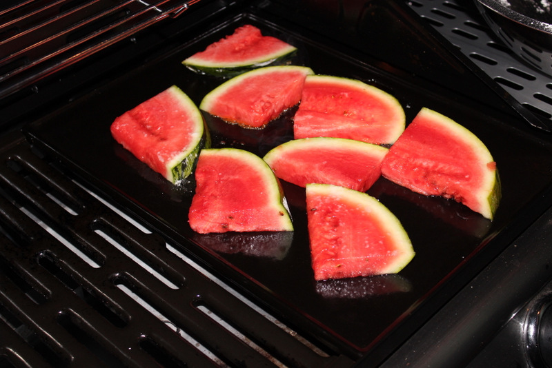 Watermelon on BBQ