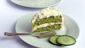 Cucumber & Lemon Cake