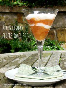 Rhubarb & Elderflower Fool