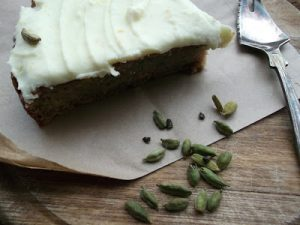 Courgette & Cardamon Cake