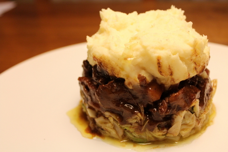 Deluxe Oxtail Cottage Pie