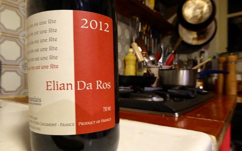 Elian Da Ros Red Wine